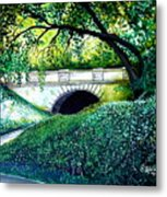 Bridge To New York Metal Print