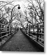 Bridge To The East River Metal Print