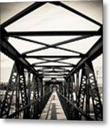 Bridge To The Past Metal Print