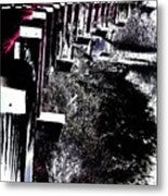 Bridge To Unknown Metal Print