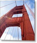 Bridge Tower Metal Print