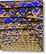 Bridge Work Metal Print