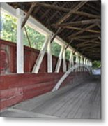 Bridge Work Metal Print
