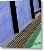 Bridged Metal Print