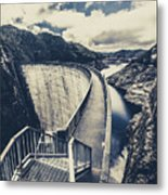 Bridges And Outback Dams Metal Print