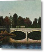 Bridges Of Forest Park Iv Metal Print