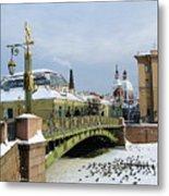 Bridges Of Petersburg Metal Print