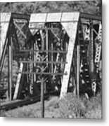 Bridges Of Power Metal Print