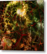 Bridges To Inner Sanctums Metal Print