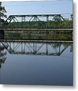 Bridging The Cathance Metal Print