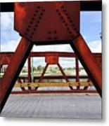 Bridging The Gap Metal Print