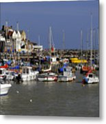 Bridlington Harbour Metal Print