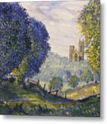 Bridlington Priory From Woldgate On The Hockney Trail Metal Print