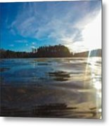Briery Creek Lake Metal Print