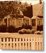 Brigham Young Home Metal Print