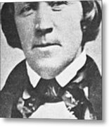 Brigham Young  Second President Of The Mormon Church, Aged 43, 1844 Metal Print