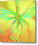 Bright And Sunny Metal Print