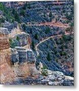Bright Angel Trail @ Grand Canyon Metal Print