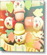Bright Beaming Clown Show Act Metal Print
