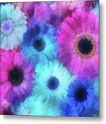 Bright Blossoms Metal Print