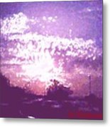 Bright Evening Metal Print
