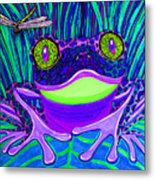 Bright Eyes 3 Metal Print by Nick Gustafson