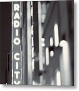 Bright Lights In The City Metal Print