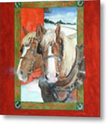 Bright Spirits Metal Print