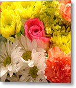 Bright Spring Flowers Metal Print