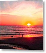 Bright Sunset Metal Print