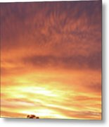 Bright Sunset Metal Print