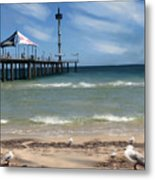 brighton Beach Metal Print