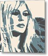 Brigitte Bardot Poster 2 Metal Print