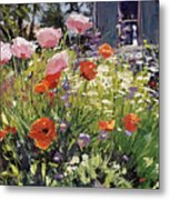Brilliant Garden Metal Print