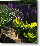 Brilliant Green Sunshine - Impressions Of Spring Metal Print