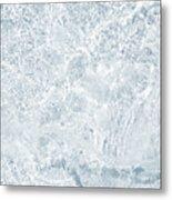 Brilliant Shine. Series Ethereal Blue Metal Print