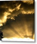 Brilliant Sky Metal Print