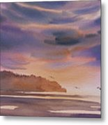 Brilliant Sunset Metal Print