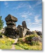 Brimham Rocks Metal Print