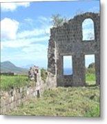Brimstone Ruins Metal Print