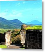 Brimstone Towards Nevis Metal Print