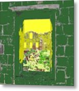 Brimstone Window Metal Print