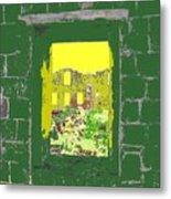 Brimstone Window Metal Print