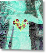 Bring Love To The Universe Metal Print