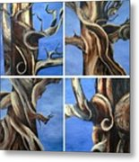 Bristlecone Tree Set Metal Print