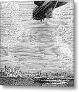 British Airship, 1919 Metal Print