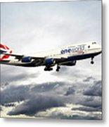 British Airways 747 G-civi Metal Print