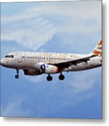 British Airways Airbus A319-131 Metal Print