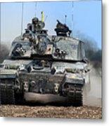 British Army Challenger 2 Main Battle Tank   Metal Print