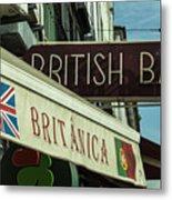 British Bar Britanica  Metal Print